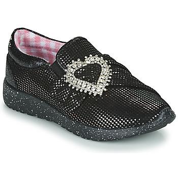 Cipők Női Rövid szárú edzőcipők Irregular Choice TWO SHAKES Fekete