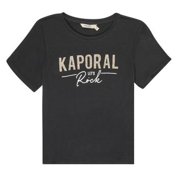 Ruhák Lány Rövid ujjú pólók Kaporal MAPIK Fekete