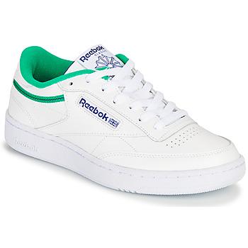 Cipők Rövid szárú edzőcipők Reebok Classic CLUB C 85 Fehér / Zöld