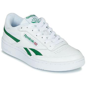 Cipők Rövid szárú edzőcipők Reebok Classic CLUB C REVENGE MU Fehér / Zöld