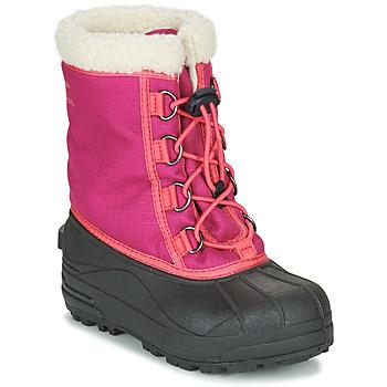 Cipők Lány Hótaposók Sorel YOUTH CUMBERLAND™ Rózsaszín
