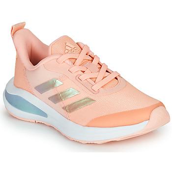 Cipők Lány Rövid szárú edzőcipők adidas Performance FORTARUN  K Rózsaszín