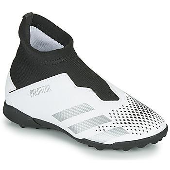 Cipők Gyerek Foci adidas Performance PREDATOR 20.3 LL TF Fehér