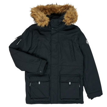 Ruhák Fiú Parka kabátok Teddy Smith KILIAN Fekete