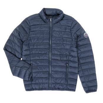 Ruhák Fiú Steppelt kabátok Teddy Smith BLIGHT Tengerész