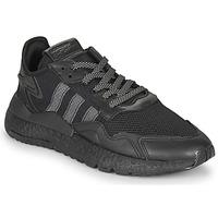 Cipők Férfi Rövid szárú edzőcipők adidas Originals NITE JOGGER Fekete