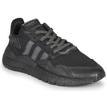 Cipők Rövid szárú edzőcipők adidas Originals NITE JOGGER Fekete