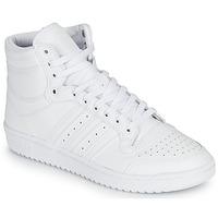 Cipők Magas szárú edzőcipők adidas Originals TOP TEN Fehér