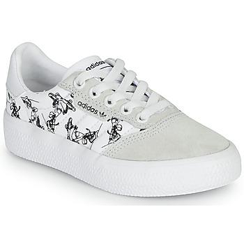 Cipők Gyerek Rövid szárú edzőcipők adidas Originals 3MC C X DISNEY SPORT Fehér