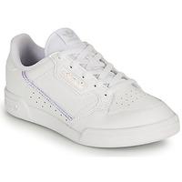 Cipők Lány Rövid szárú edzőcipők adidas Originals CONTINENTAL 80 C Fehér / Irizáló