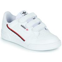 Cipők Gyerek Rövid szárú edzőcipők adidas Originals CONTINENTAL 80 CF C Fehér