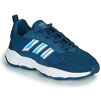 Cipők Fiú Rövid szárú edzőcipők adidas Originals HAIWEE J Kék