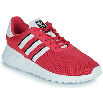 Cipők Lány Rövid szárú edzőcipők adidas Originals LA TRAINER LITE C Rózsaszín