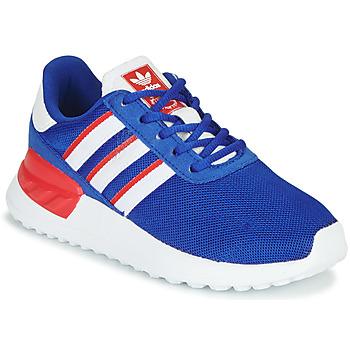 Cipők Fiú Rövid szárú edzőcipők adidas Originals LA TRAINER LITE C Kék