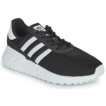 Cipők Gyerek Rövid szárú edzőcipők adidas Originals LA TRAINER LITE C Fekete  / Fehér