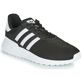 Cipők Gyerek Rövid szárú edzőcipők adidas Originals LA TRAINER LITE J Fekete  / Fehér