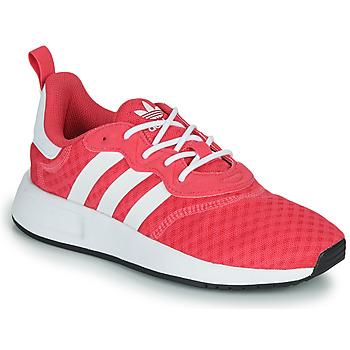 Cipők Lány Rövid szárú edzőcipők adidas Originals X_PLR S J Rózsaszín