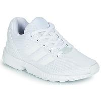 Cipők Gyerek Rövid szárú edzőcipők adidas Originals ZX FLUX C Fehér