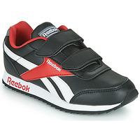 Cipők Gyerek Rövid szárú edzőcipők Reebok Classic REEBOK ROYAL CLJOG Fekete  / Fehér / Piros