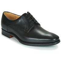 Cipők Férfi Oxford cipők Barker ELLON Fekete
