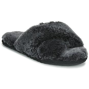 Cipők Női Mamuszok EMU MAYBERRY FROST Fekete