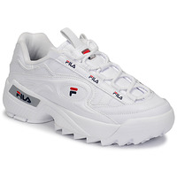 Cipők Női Rövid szárú edzőcipők Fila D-FORMATION WMN Fehér