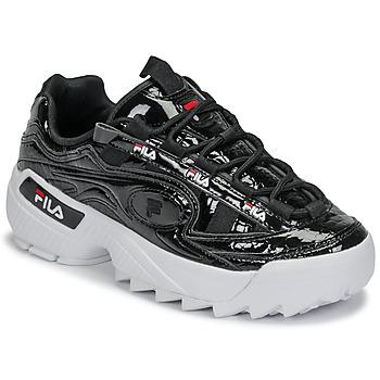Cipők Női Rövid szárú edzőcipők Fila D-FORMATION F WMN Fekete