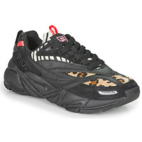Cipők Női Rövid szárú edzőcipők Fila RUSH F WMN Fekete