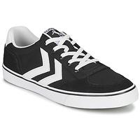 Cipők Rövid szárú edzőcipők Hummel STADIL LOW OGC 3.0 Fekete  / Fehér