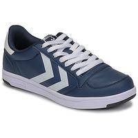 Cipők Férfi Rövid szárú edzőcipők Hummel STADIL LIGHT Kék