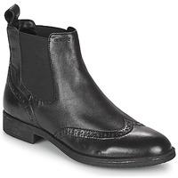 Cipők Női Bokacsizmák Geox JAYLON Fekete