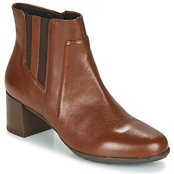 Cipők Női Bokacsizmák Geox NEW ANNYA MID Barna