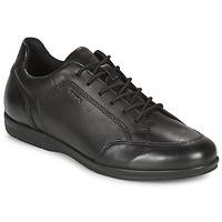 Cipők Férfi Oxford cipők Geox ADRIEN Fekete