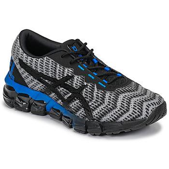 Cipők Gyerek Rövid szárú edzőcipők Asics GEL-QUANTUM 180 5 GS Szürke / Fekete  / Kék