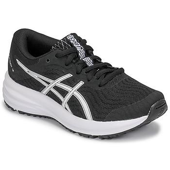 Cipők Gyerek Futócipők Asics PATRIOT 12 GS Fekete  / Fehér