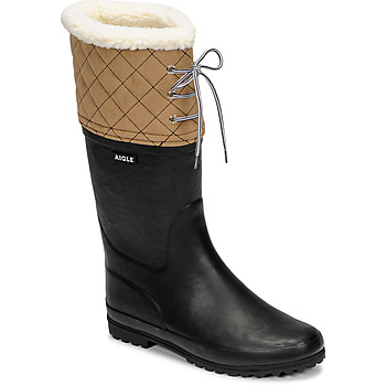 Cipők Női Hótaposók Aigle POLKA GIBOULEE Tengerész / Bézs