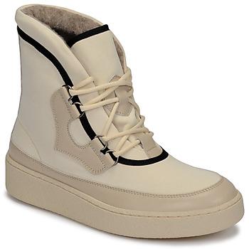 Cipők Női Hótaposók Aigle SKILON HIGH Fehér