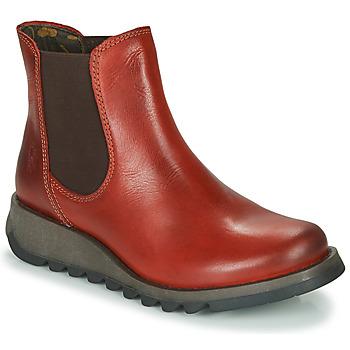 Cipők Női Csizmák Fly London SALV Piros