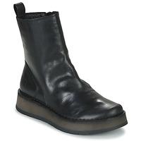 Cipők Női Csizmák Fly London RENO Fekete