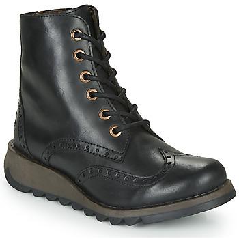 Cipők Női Csizmák Fly London SARL069FLY Fekete
