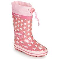 Cipők Lány Gumicsizmák Kangaroos K-RAIN Rózsaszín
