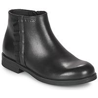 Cipők Lány Csizmák Geox AGGATA Fekete