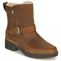 Cipők Női Csizmák Timberland GRACEYN BIKER WP Barna