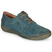 Cipők Női Oxford cipők Josef Seibel FERGEY 20 Tengerész