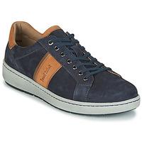 Cipők Férfi Rövid szárú edzőcipők Josef Seibel DAVID 01 Kék