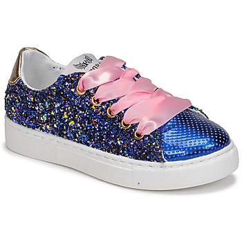 Cipők Lány Rövid szárú edzőcipők Kaporal SHERIFA Sokszínű