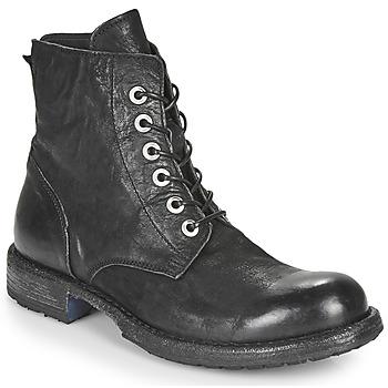 Cipők Női Csizmák Moma MALE Fekete