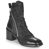 Cipők Női Bokacsizmák Moma NANINI Fekete