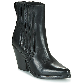 Cipők Női Bokacsizmák Moma CROSBY Fekete