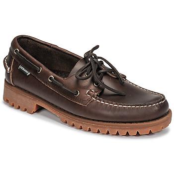 Cipők Férfi Vitorlás cipők Sebago RANGERWAXY Barna